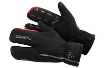Craft Bike Thermal Split Finger Glove black